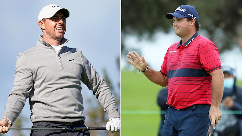 Pictured here, Rory McIlroy and Patrick Reed at the Farmers Insurance Open at Torrey Pines.