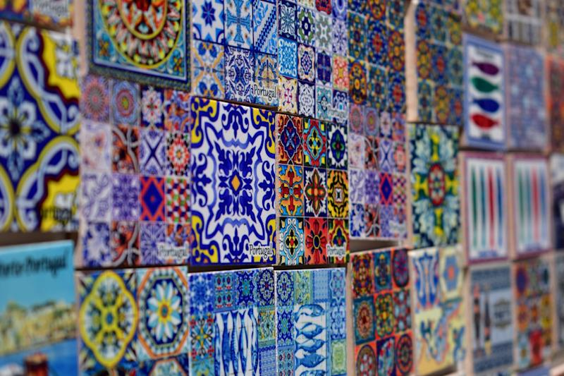 'Nothing is quite so Portuguese as the tiles that glint in the white sun' - getty