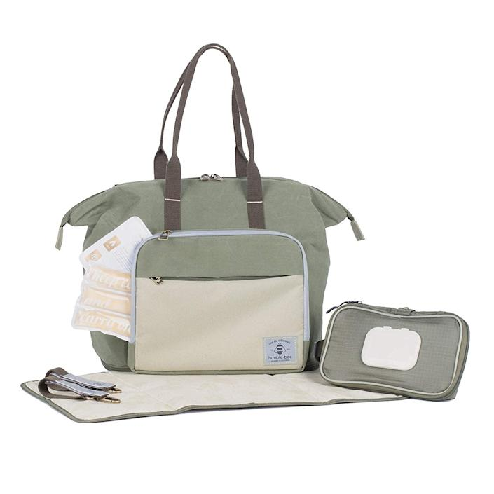 <p>The <span>Humble-Bee Boundless Charm Expandable Diaper Bag</span> ($109) is so spacious, it's the perfect bag for twins! It can be carried as a backpack, a handbag, or a messenger bag, with removable straps made of soft cushy webbing.</p>