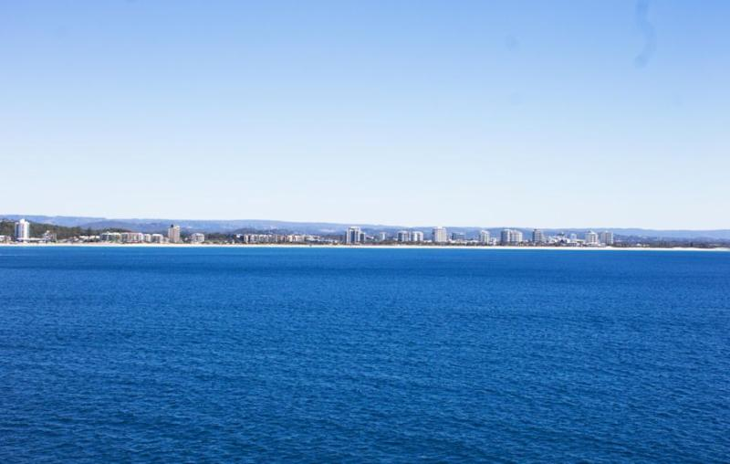 With so much going on on board, you actually forget about arriving in Mooloolaba. Source: Be
