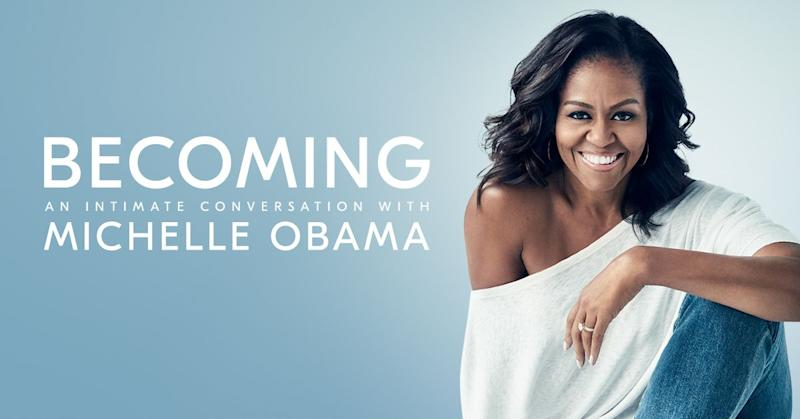 Michelle Obama to launch 2019 arena tour, Conan O'Brien, Stephen Colbert, Jimmy Kimmel to moderate