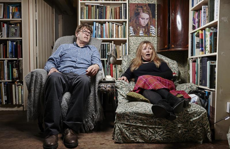 Giles and Mary joined Gogglebox in 2015 (Credit: Channel 4)
