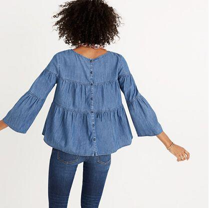 "So cute, so stylish and <i><a href=""https://www.madewell.com/madewell_category/DENIMBAR/moredenim/PRDOVR~H3417/H3417.jsp"" target=""_blank"">so</a></i><a href=""https://www.madewell.com/madewell_category/DENIMBAR/moredenim/PRDOVR~H3417/H3417.jsp"" target=""_blank""> comfortable</a>."
