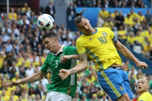 Sweden and Republic of Ireland draw 1-1 in Euro 2016