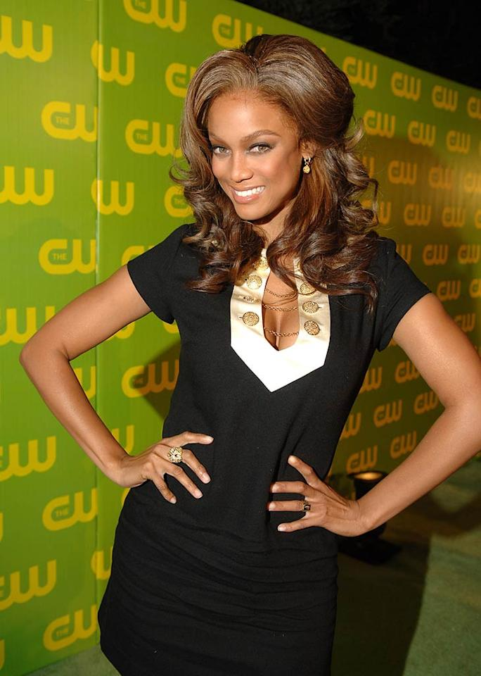 "Tyra is fierce. Can't wait for the next season, I mean cycle, of ANTM. Michael Caulfield/<a href=""http://www.wireimage.com"" target=""new"">WireImage.com</a> - September 18, 2006"