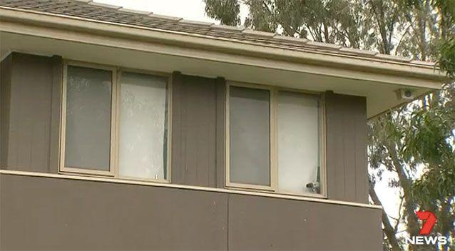 The man leapt from his second storey window to escape. Source: 7 News