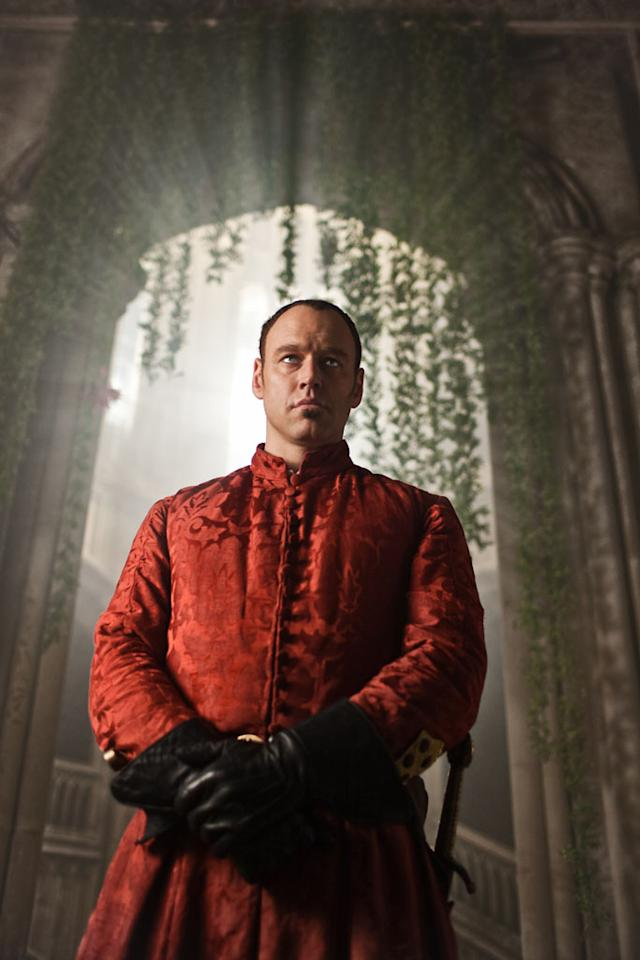 "Lorenzo Medici (Elliot Cowan) in ""Da Vinci's Demons"" on Starz."