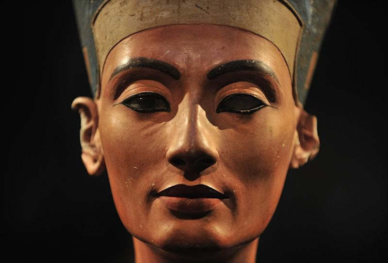 Egypt's Queen Nefertiti played a major political and religious role in the 14th century BC (AFP Photo/John MacDougall)