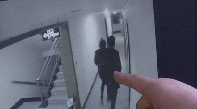 CCTV footage of the teens before the gang-rape of a young girl in a hotel.