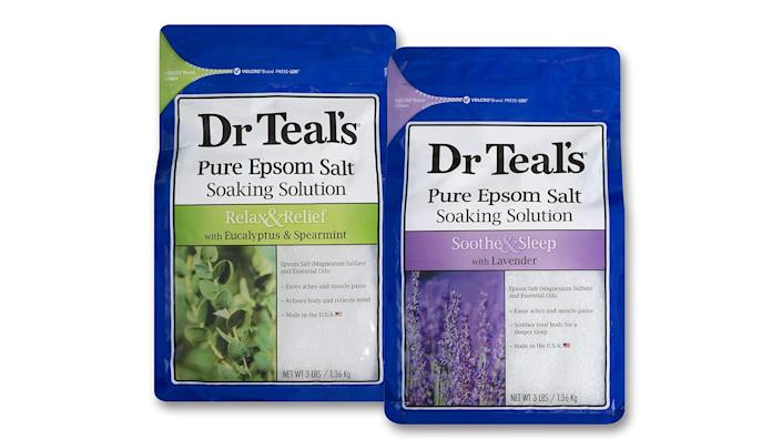 Best health and fitness gifts 2021: Dr Teal's Epsom Salt
