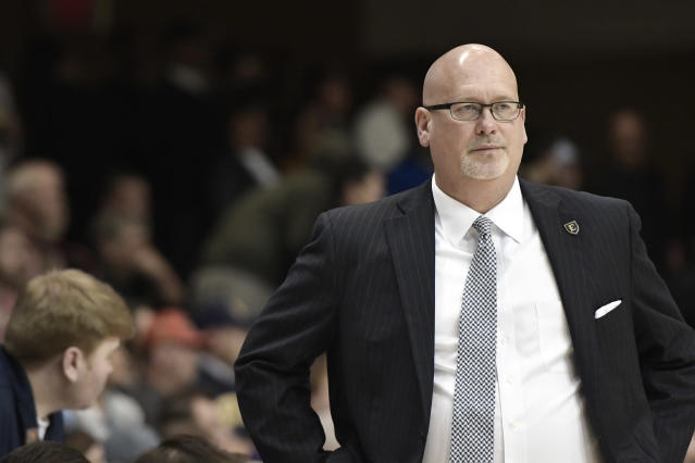 Steve Forbes compiled a 130-43 record over five seasons at ETSU, and was widely considered one of the best mid-major coaches in the country. (David Allio/Icon Sportswire/Getty Images)