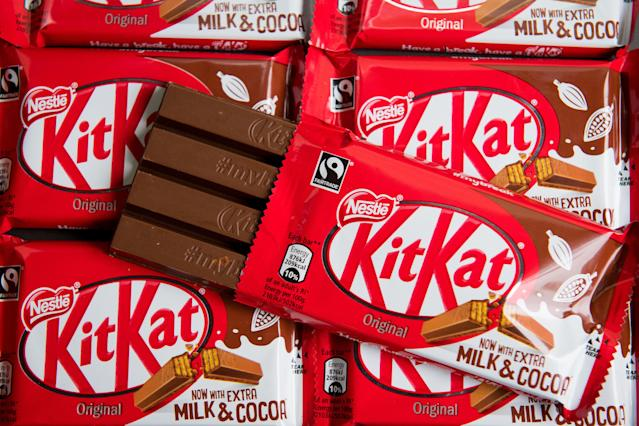 Kit Kat maker Nestle released its results. Photo: PA