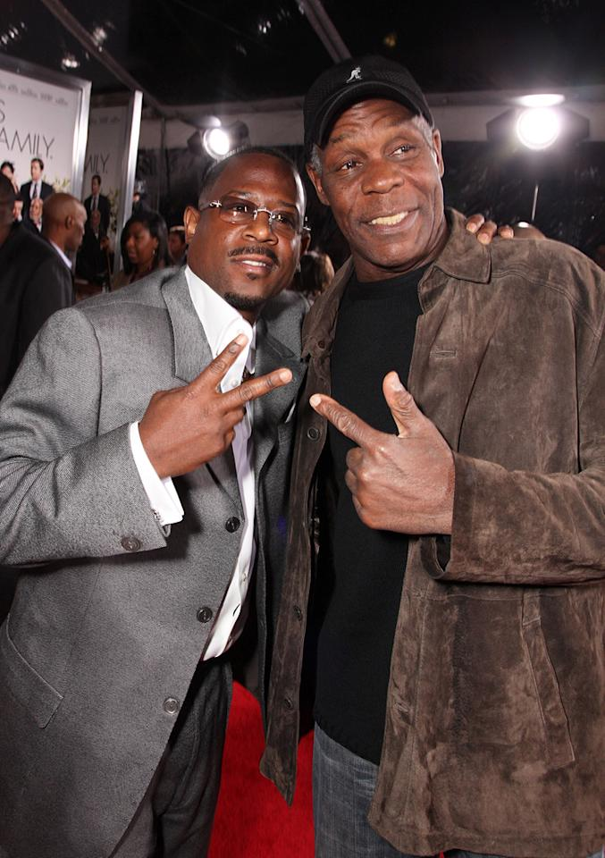 """<a href=""""http://movies.yahoo.com/movie/contributor/1800018735"""">Martin Lawrence</a> and <a href=""""http://movies.yahoo.com/movie/contributor/1800019112"""">Danny Glover</a> at the Los Angeles premiere of <a href=""""http://movies.yahoo.com/movie/1810077967/info"""">Death at a Funeral</a> - 04/12/2010"""