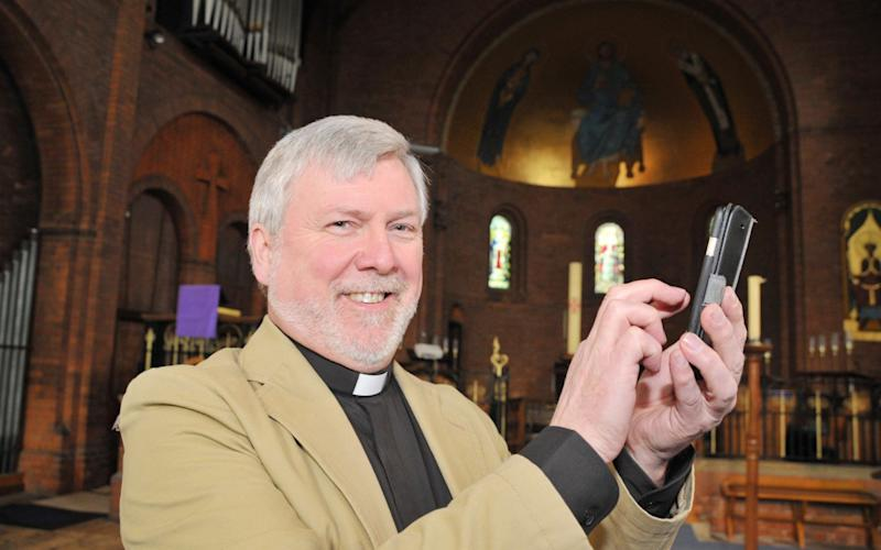 The Rev Harvey Gibbons of St Augustine of Canterbury, in Rodbourne, Swindon - Dave Cox/Swindon Advertiser
