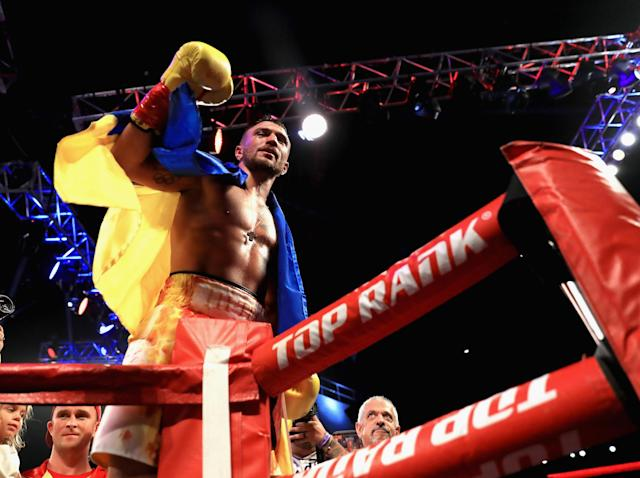 Vasyl Lomachenko, a two-time Olympic gold medalist, will meet fellow two-time Olympic gold medalist Guillermo Rigondeaux on Dec. 9 at Madison Square Garden in New York on ESPN. (Getty Images)