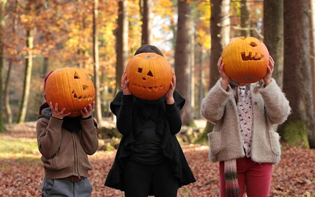 11th century 'souling' has evolved into modern-day trick or-treating - © 2011 susan.k.