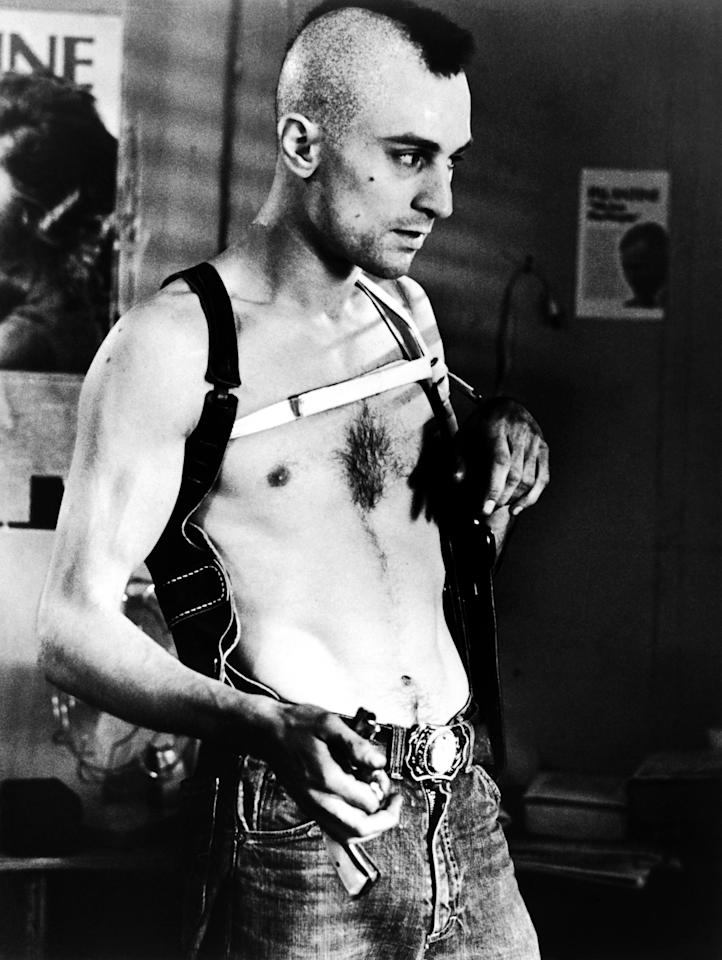 Robert De Niro as Travis Bickle in Martin Scorsese's..TAXI DRIVER. Photo courtesy of Sony Pictures Repertory.