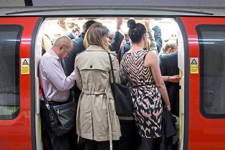 There have been 44 milion fewer trips on the Underground than expected