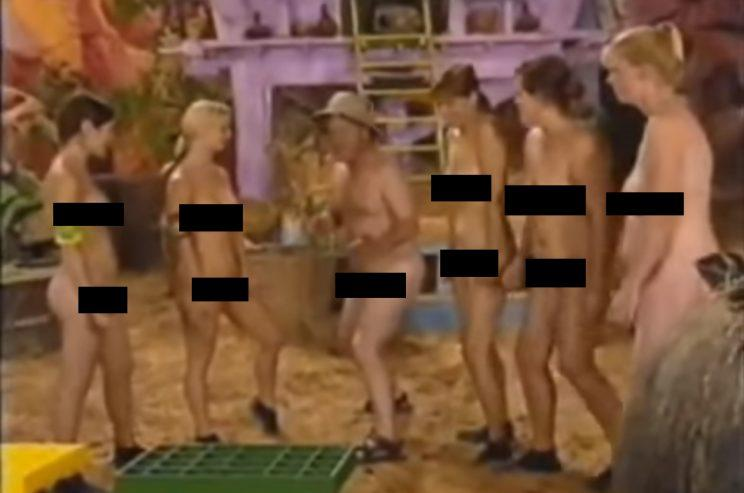 Naked Keith Chegwin hits the heights of memorably rotten TV