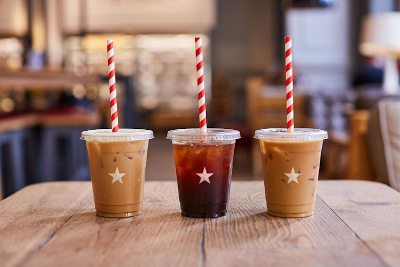 Free Pret iced coffee? It's a big fat yes from us. [Photo: Pret]