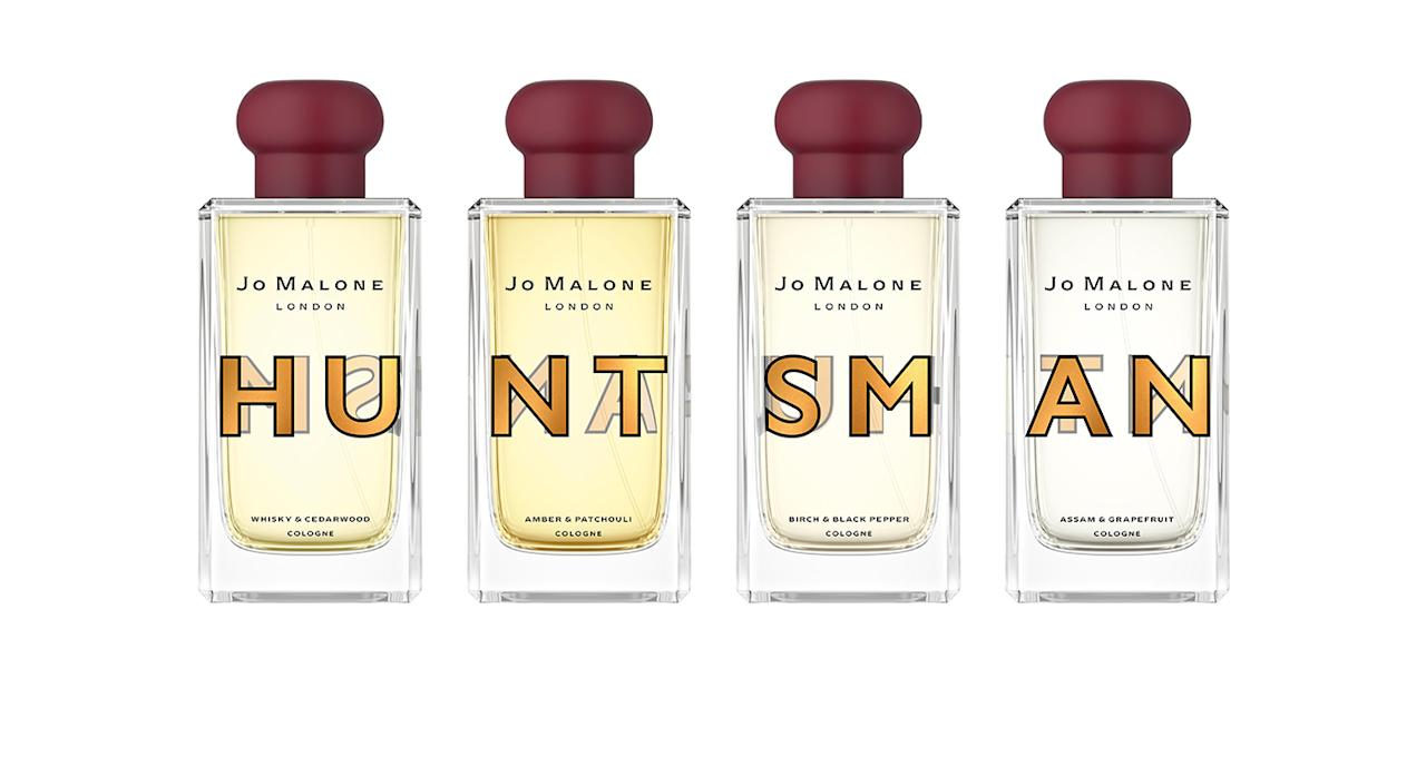 "<p>Say hello to Jo Malone's first ever men's collection. For the launch, the beauty brand teamed up with Huntsman Savile Row to create a quintessentially British – and sharply dressed – range of scents that both men and women alike will love. There are four scents, including one infused with whisky. What's not to love? <em>Available from <a rel=""nofollow"" href=""http://jomalone.co.uk"">Jo Malone.</a></em> </p>"