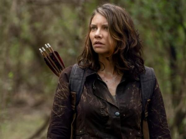 Lauren Cohan as Maggie in a still from 'The Walking Dead' (Image source: Instagram)