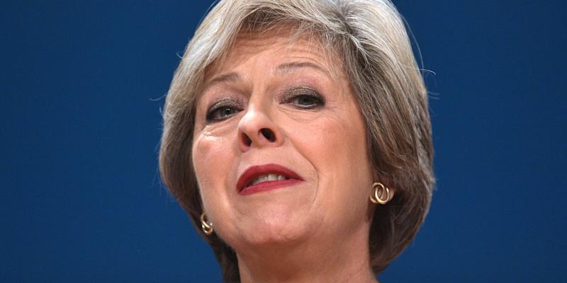 theresa may conservative tory leader mp prime minister