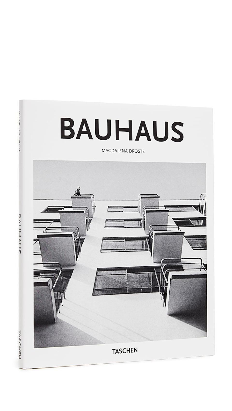 <p>If they're into art, they'll love this <span>Taschen Basic Art Series: Bauhaus</span> ($15) book.</p>