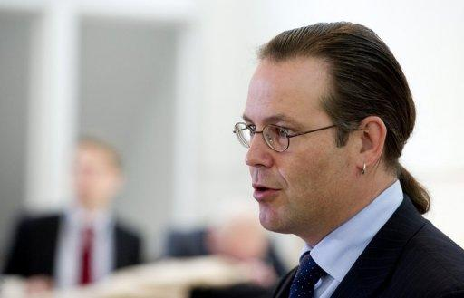 Swedish Finance Minister Anders Borg