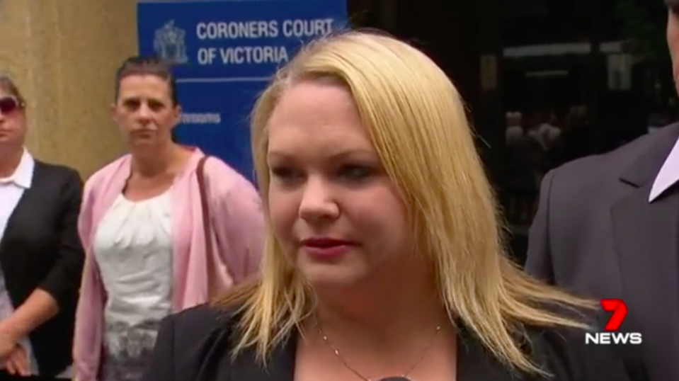 Bella's mother, Allison, gave evidence in court on Monday. Source: 7News
