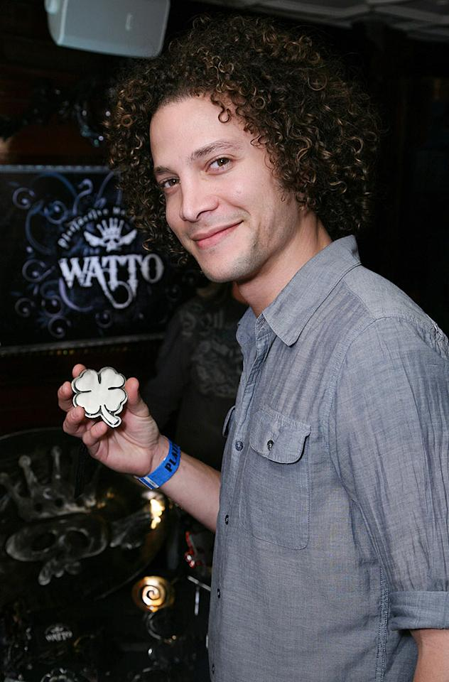 "Do you think former ""American Idol"" contestant Justin Guarini was surprised he didn't win a Golden Globe for his work in ""From Justin to Kelly""? Yeah, probably not. Tiffany Rose/ <a href=""http://www.wireimage.com"" target=""new"">WireImage.com</a> - January 14, 2010"