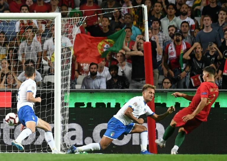 Andre Silva scored the winning goal as Portugal beat Italy 1-0 in their UEFA Nations League opener