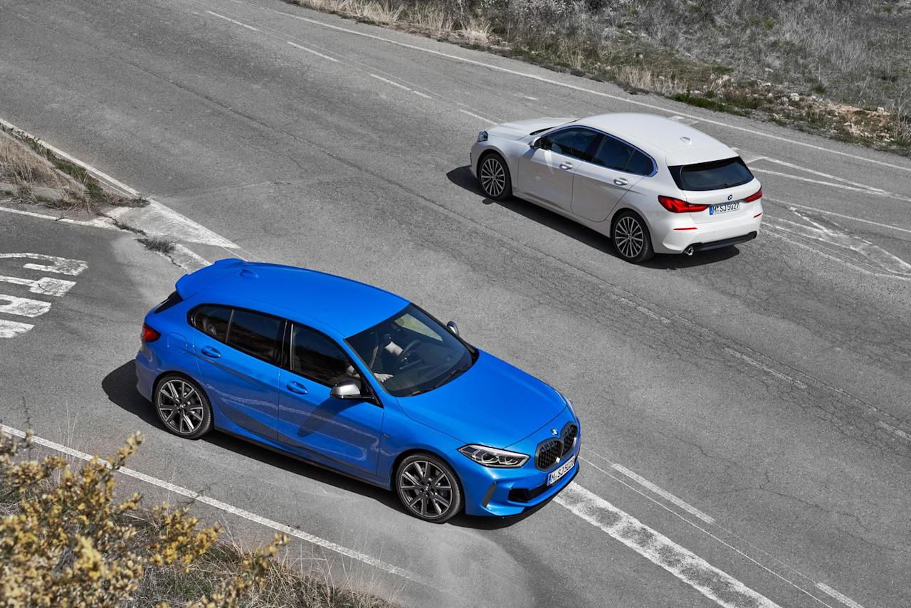 Photos of the New BMW 1-Series Hatchback