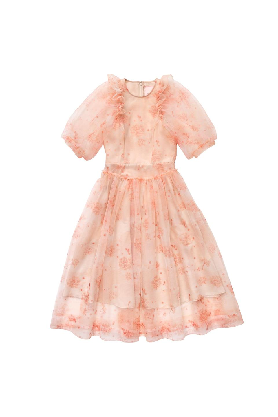 <p><span>Simone Rocha x H&amp;M Puff-Sleeved Tulle Dress</span> ($199).</p>