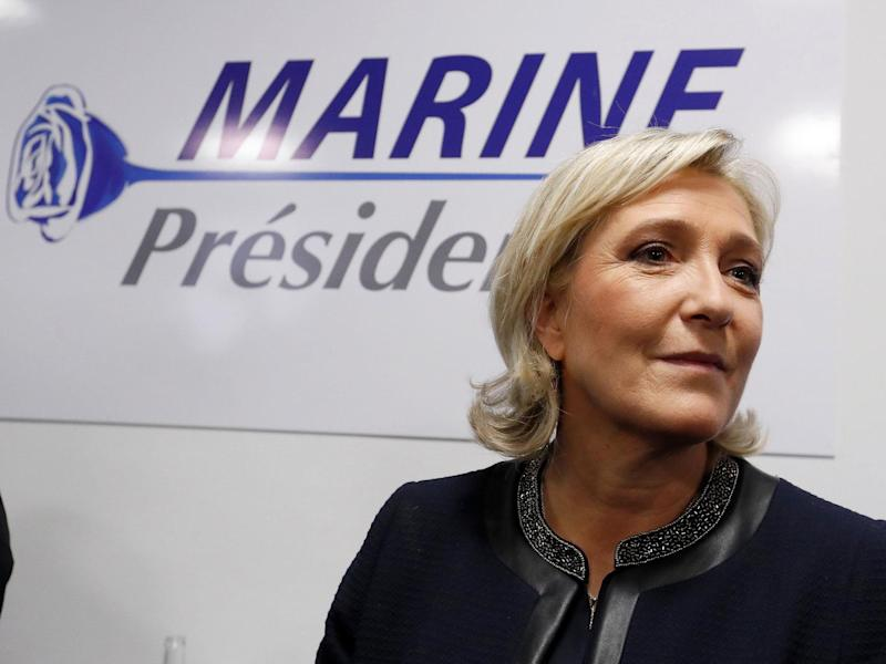 Marine Le Pen will be hoping to continue to defy the odds in a second round runoff in May: Reuters