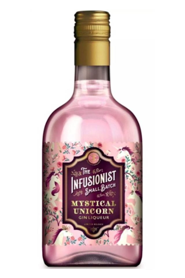 <p>You can always rely on Aldi to bring out a flavoured gin we want to get our hands on. This one, named Mystical Unicorn, is a pink and shimmery gin liqueur, which tastes of candy floss and marshmallow.</p><p><em>Available from August 22 in store and online, £9.99, 5ocl.</em><br></p>