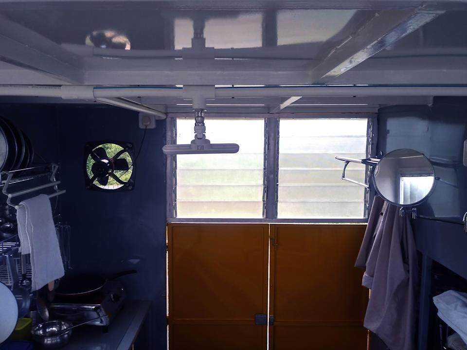Interior of SOLO 01