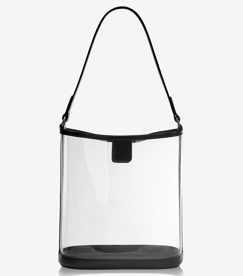 """The chicest """"NFL stadium-approved"""" bag I've seen."""