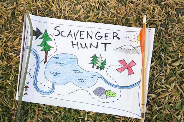 <p>If mom is itching for an adventure, set up an elaborate indoor or outdoor scavenger hunt. Whether it's to find her Mother's Day gifts, her Mother's Day cards, or another beloved item, she'll enjoy using a map and clues to eventually unearth what's at the finish line. </p>