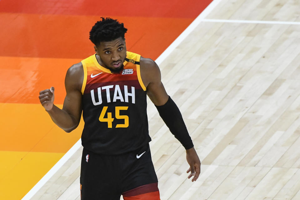 Donovan Mitchell and the Utah Jazz are on a phenomenal run. (Photo by Alex Goodlett/Getty Images)