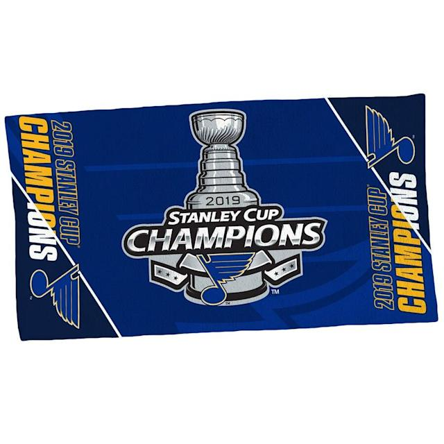 Blues 2019 Stanley Cup Champions 2-Sided Towel