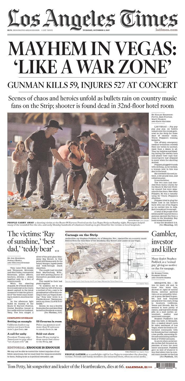 """<p>""""Los Angeles Times,"""" published in Los Angeles, Calif. (newseum.org) </p>"""