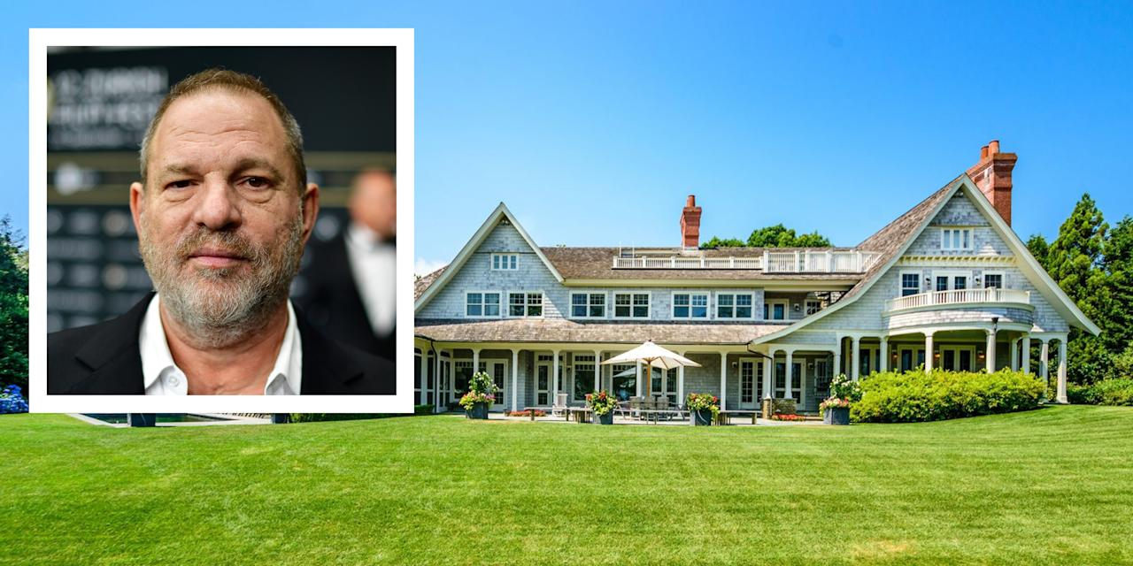 <p>The beleaguered film executive's 9,000-square-foot home in Amagansett comes with a professional screening room. </p>
