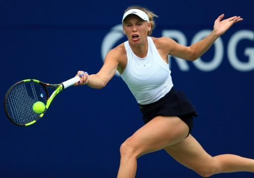 Wozniacki topples top seed Pliskova at WTA Toronto