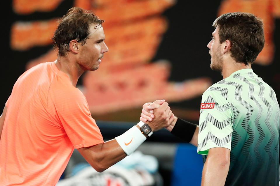 <p>Rafael Nadal has beaten Cam Norrie twice already this year</p> (Getty Images)