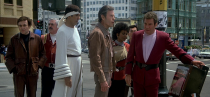"""<p>Captain Kirk and crew <a href=""""https://www.amazon.com/Star-Trek-IV-Voyage-Home/dp/B001XUPGLY/?tag=syn-yahoo-20&ascsubtag=%5Bartid%7C2089.g.35650609%5Bsrc%7Cyahoo-us"""" rel=""""nofollow noopener"""" target=""""_blank"""" data-ylk=""""slk:must travel back 200 years"""" class=""""link rapid-noclick-resp"""">must travel back 200 years</a> to 1986 to recover a humpback whale, which is extinct in the future, in order to stop an alien probe from annihilating Earth.</p><p>It's <em><a href=""""https://www.popularmechanics.com/star-trek/"""" rel=""""nofollow noopener"""" target=""""_blank"""" data-ylk=""""slk:Star Trek"""" class=""""link rapid-noclick-resp"""">Star Trek</a></em>. It's time travel. It's whales. It's great.</p>"""