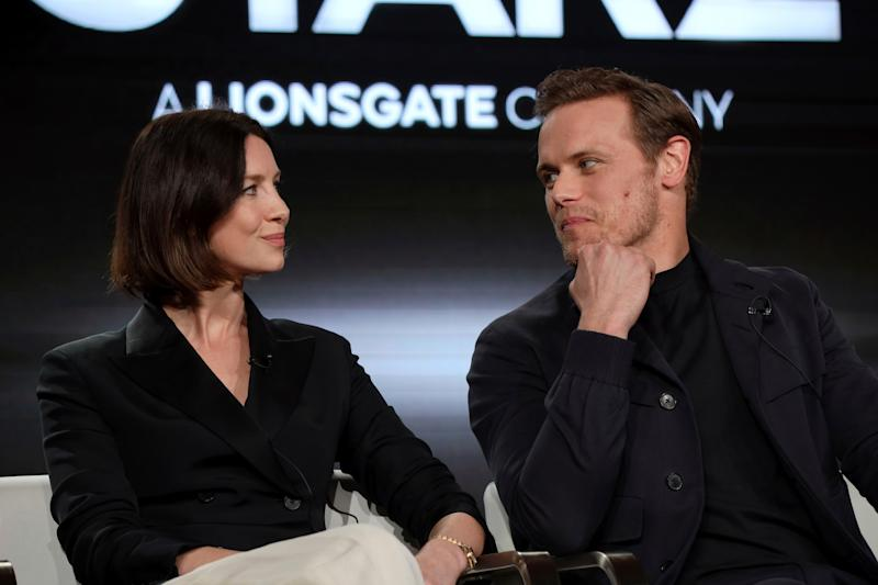Outlander Season 5 Spoilers - Interview With Sam Heughan and Caitriona Balfe