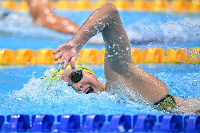 Australia's Ariarne Titmus won the 400m and 200m freestyle in Tokyo