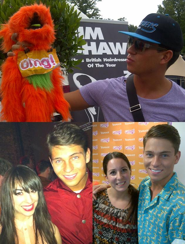 Celebrity photos: We love Joey Essex so much we posed with him three times, wouldn't you too?