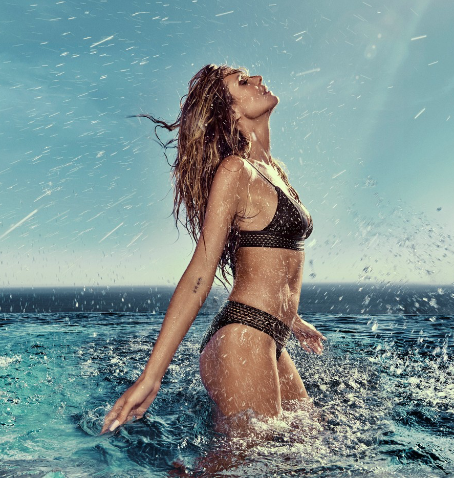 <p>The 44-year-old model poses for her swimwear label Heidi Klum Swim. Source: Instagram/heidiklum </p>